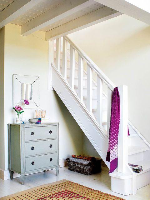 Room, Furniture, Ceiling, Pink, Interior design, Wall, Property, Shelf, Purple, House,
