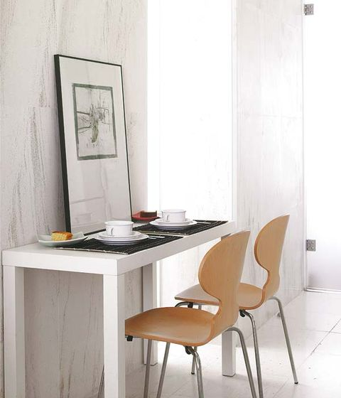 Wood, Room, Table, Interior design, Furniture, Floor, Chair, Desk, Plywood, Writing desk,