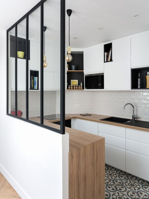 Room, Countertop, Property, Interior design, Furniture, Cabinetry, Building, House, Kitchen, Architecture,