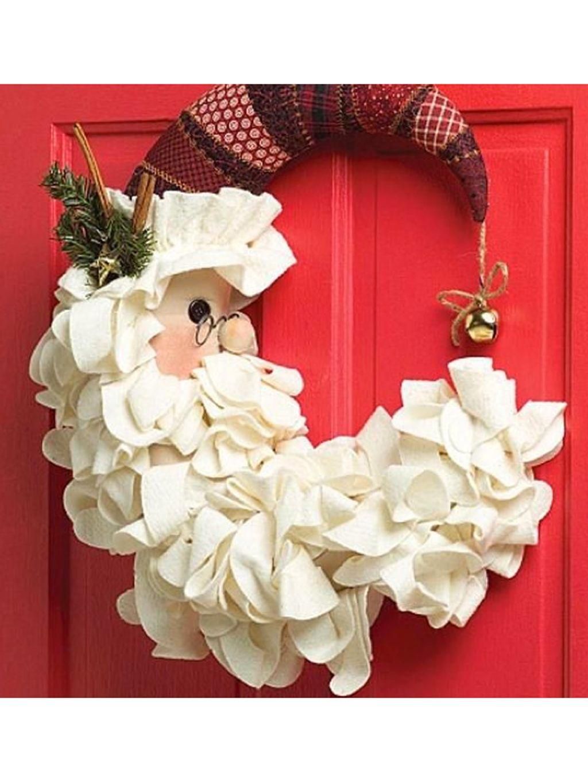Coronas De Navidad Para Dar La Bienvenida - Coronas-de-navidad-para-puertas