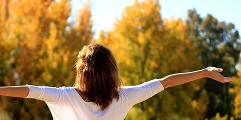 People in nature, Arm, Shoulder, Standing, Happy, Fun, Joint, Sunlight, Photography, Tree,