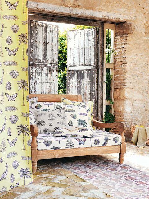 Wood, Room, Wall, Interior design, Furniture, Floor, Flooring, Pillow, Throw pillow, Home,