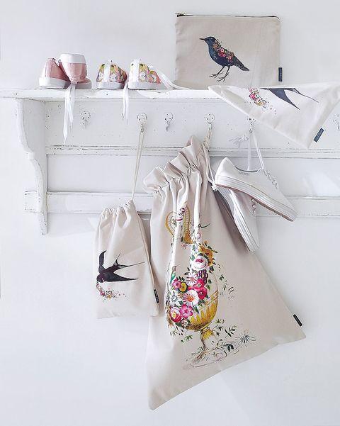 sacos de tela con cordón