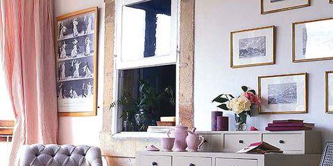 Room, Interior design, Wood, Home, Floor, Furniture, Purple, Wall, Flooring, Interior design,