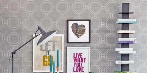 Lavender, Teal, Aqua, Illustration,