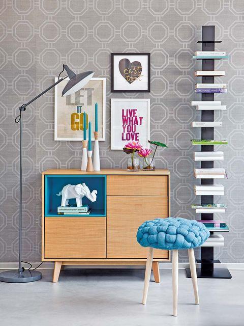 Room, Floor, Interior design, Flooring, Purple, Teal, Turquoise, Aqua, Lavender, Violet,