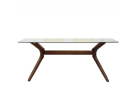 Table, Furniture, Line, Coffee table, Rectangle, Tan, Beige, Wood stain, Hardwood, Outdoor furniture,