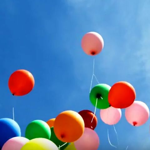 Colorfulness, Party supply, Orange, Circle, Sphere, Balloon,