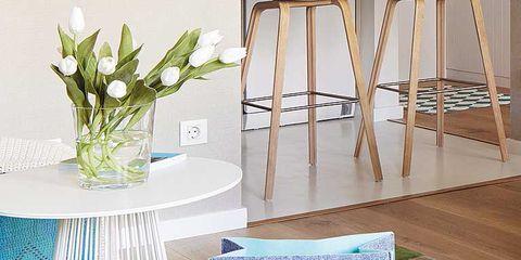 Floor, Petal, Flooring, Home accessories, Centrepiece, Artifact, Teal, Interior design, Design, Linens,