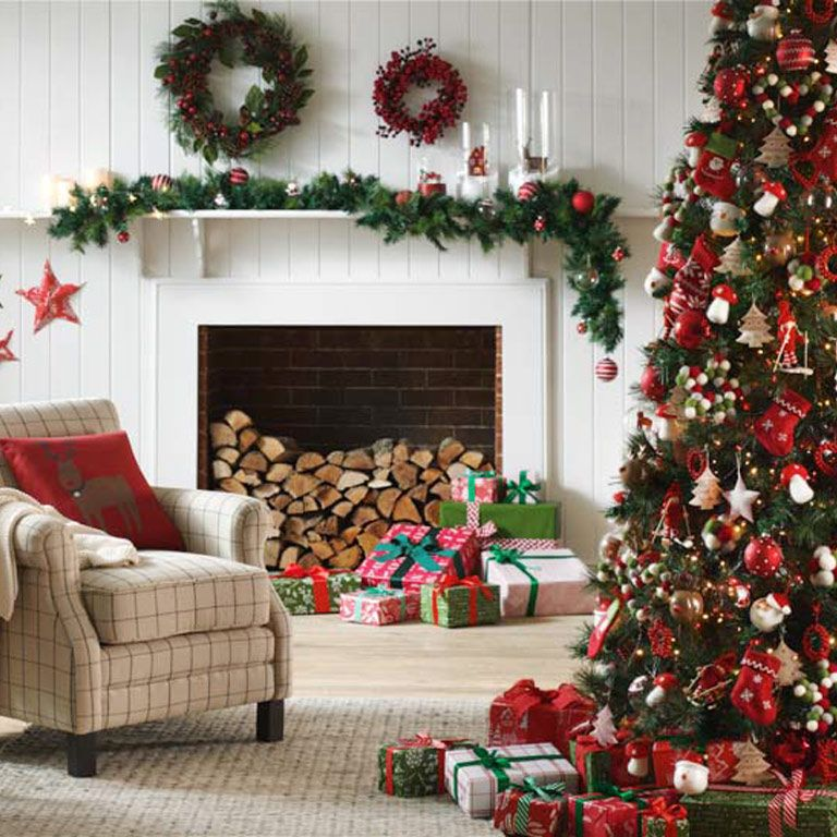 Como Adornar Tu Arbol De Navidad - Como-decorar-el-arbol-navideo