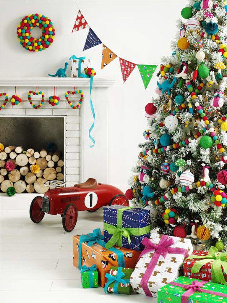 Como Adornar Tu Arbol De Navidad - Decoracion-arboles-de-navidad