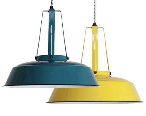Yellow, Line, Light, Metal, Lighting accessory, Iron, Light fixture, Lampshade, Steel, Still life photography,