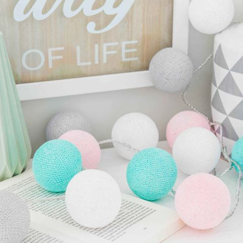 Product, Party favor, Circle, Room, Textile, Ball, Pom-pom, Thread, Wool,