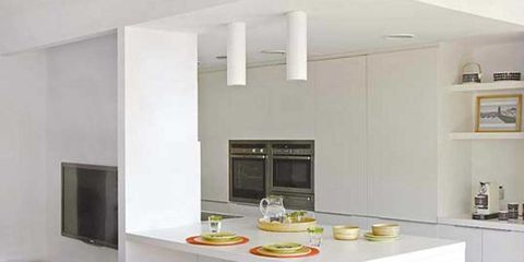 Furniture, Room, Interior design, Kitchen, Property, Table, Stool, Bar stool, House, Countertop,