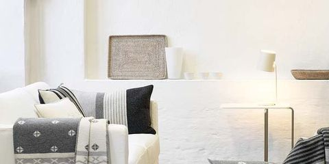 Product, Textile, Room, Interior design, Wall, Linens, Bedding, Pillow, Cushion, Floor,