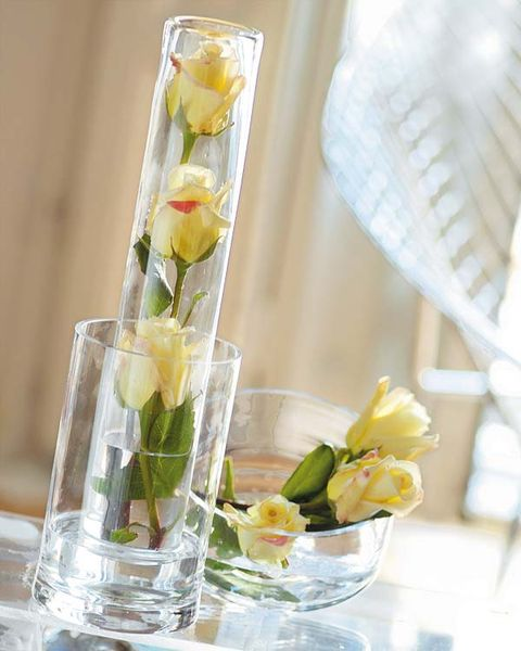 Flower, Centrepiece, Floristry, Yellow, Cut flowers, Flower Arranging, Floral design, Plant, Vase, Glass,