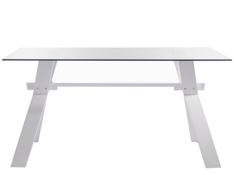 Table, Line, Rectangle, Grey, Parallel, Steel, Computer monitor accessory, Aluminium, Desk, Outdoor table,