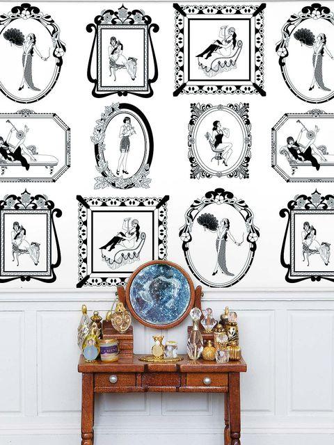 White, Style, Furniture, Table, Drawer, Cabinetry, Porcelain, Symbol, Circle, Illustration,