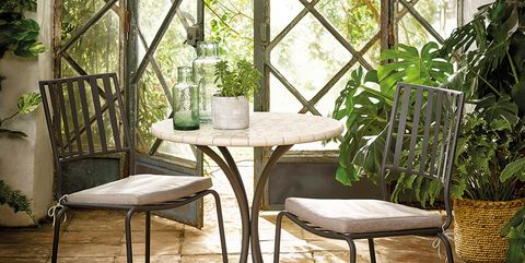 Furniture, Room, Interior design, Iron, Table, Botany, Architecture, Building, Arch, Chair,