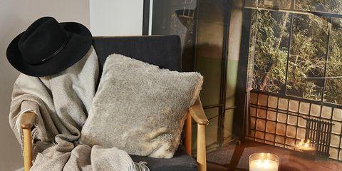 Room, Shoe, Throw pillow, Interior design, Pillow, Cushion, Home, Linens, Home accessories, Grey,