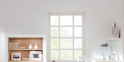 Wood, Room, Interior design, Floor, Wall, Flooring, White, Home, Furniture, Shelving,