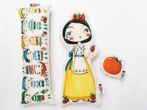 Art, Orange, Illustration, Costume design, Peach, Toy, Graphics, Creative arts, Drawing, Painting,