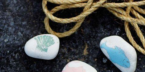 Fashion accessory, Turquoise, Pebble, Jewellery, Ornament, Rock,