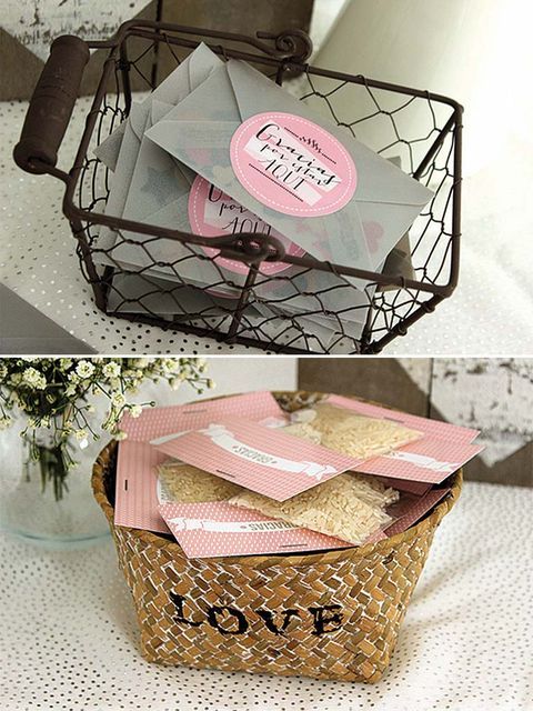 Basket, Wicker, Home accessories, Storage basket, Present, Box, Picnic basket, Packing materials, Cardboard, Wedding favors,