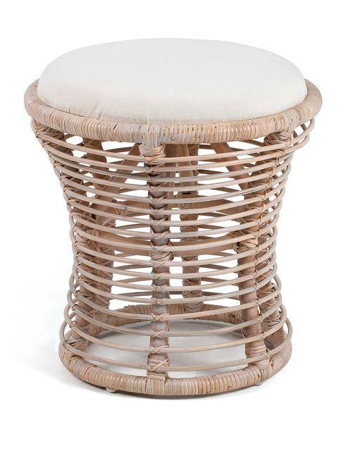 Furniture, Wicker, Table, Stool, Coffee table,