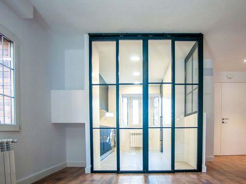 Door, Property, Room, Window, Building, Glass, Architecture, Floor, Wall, Daylighting,