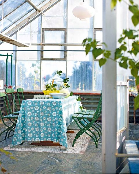 Tablecloth, Textile, Table, Room, Furniture, Interior design, Linens, Teal, Turquoise, Home accessories,
