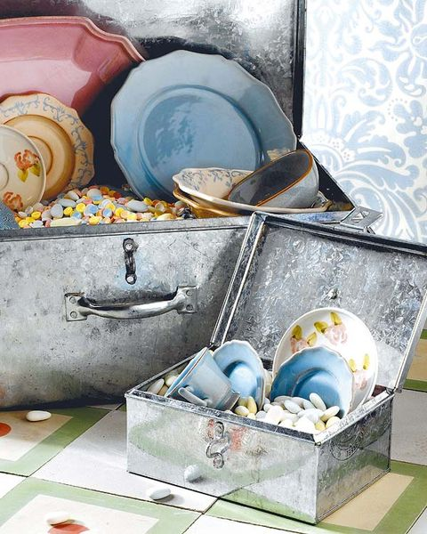 Blue, Turquoise, Teal, Dishware, Serveware, Silver, Porcelain, Still life photography, Ceramic, Still life,