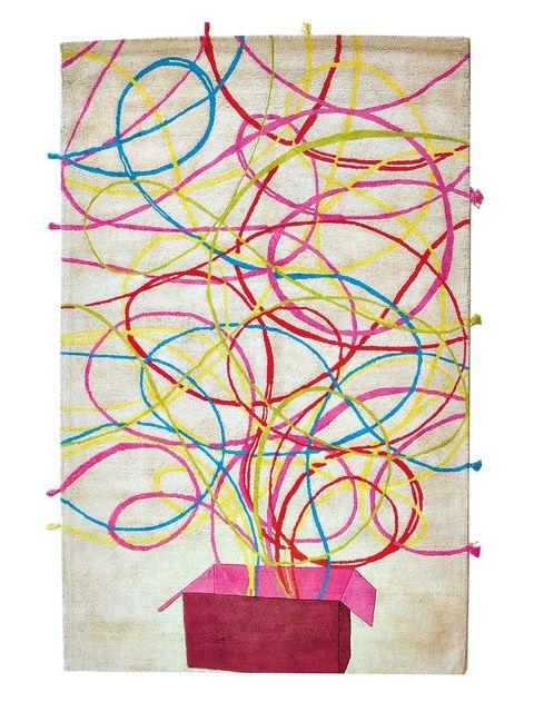 Colorfulness, Pink, Magenta, Art, Visual arts, Rectangle, Modern art, Creative arts, Illustration, Painting,