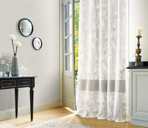Room, Floor, Flooring, Interior design, Wall, Interior design, Wall clock, Fixture, Grey, Window treatment,