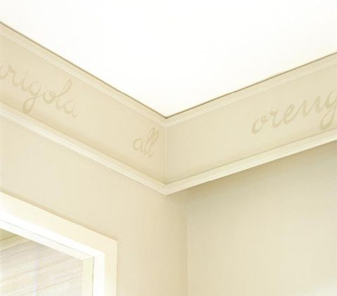 Property, Ceiling, Wall, Line, Molding, Grey, Beige, Ivory, Material property, Plaster,