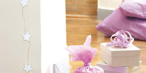 Purple, Violet, Lavender, Box, Paper bag, Party supply, Velvet, Paper product, Shipping box, Cardboard,