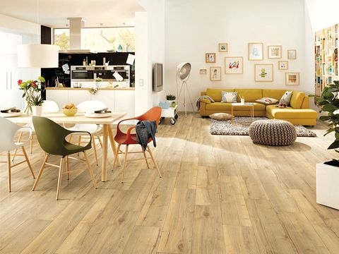 Laminate flooring, Floor, Wood flooring, Flooring, Room, Interior design, Living room, Hardwood, Furniture, Property,