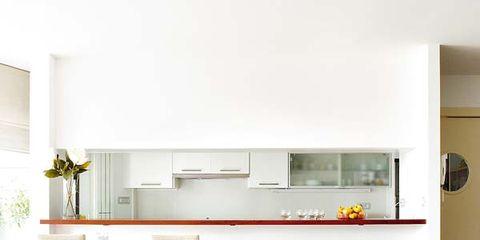 Interior design, Room, Floor, Wall, Flooring, Interior design, Home, Shelving, Grey, Door,