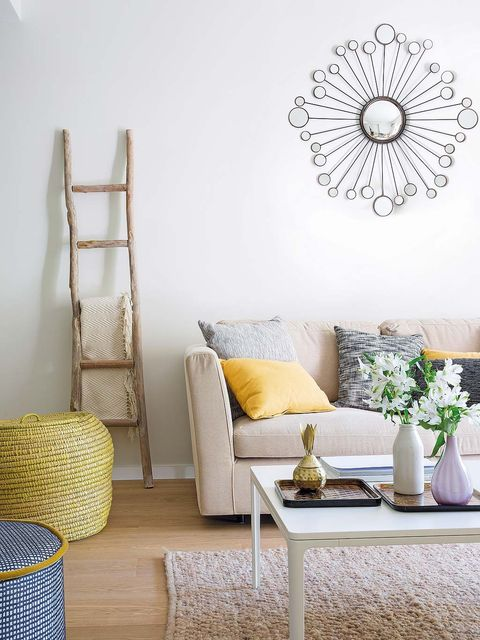 Room, Furniture, Interior design, Wall, Interior design, Home, Grey, Living room, Home accessories, Flowerpot,