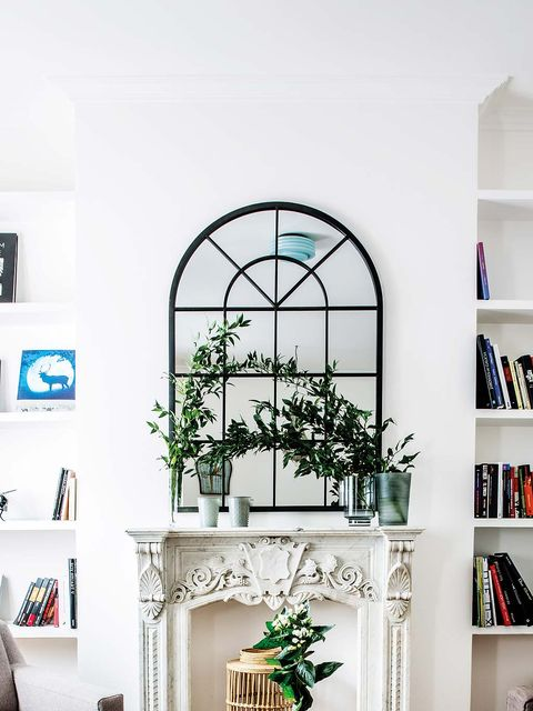 Branch, Room, Interior design, Shelving, Shelf, Wall, Interior design, Fixture, Twig, Home,