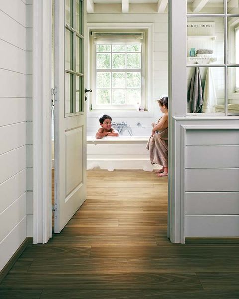 Wood, Floor, Flooring, Room, Interior design, Wood flooring, House, Laminate flooring, Home, Fixture,