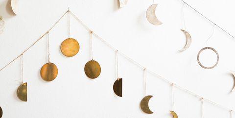Guirnaldas decorativas de lunas