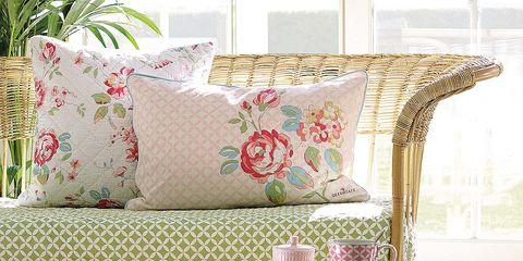 Textile, Interior design, Furniture, Pillow, Cushion, Throw pillow, Home accessories, Interior design, Living room, Creative arts,