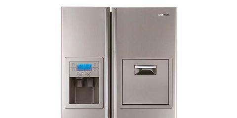 Product, Major appliance, White, Home appliance, Machine, Freezer, Gas, Silver, Kitchen appliance, Aluminium,