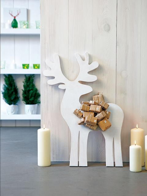 Wood, Wall, White, Interior design, Interior design, Antler, Shelf, Shelving, Natural material, Design,
