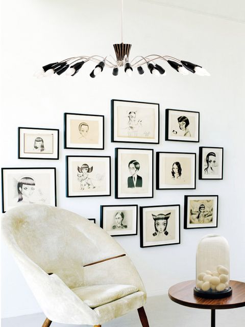 Wall, Room, Interior design, Wall sticker, Black-and-white, Design, Furniture, Wallpaper, Interior design, Living room,