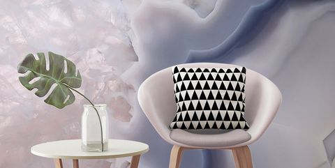 White, Furniture, Chair, Wall, Room, Wallpaper, Table, Interior design, Design, Pattern,