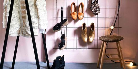 Clothes hanger, Clothing, Iron, Fashion, Room, Design, Boutique, Fashion design, Furniture, Outerwear,