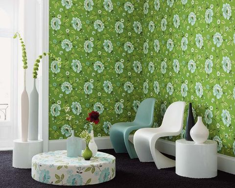 Green, Room, Interior design, Wall, Interior design, Grey, Teal, Home accessories, Artifact, Turquoise,