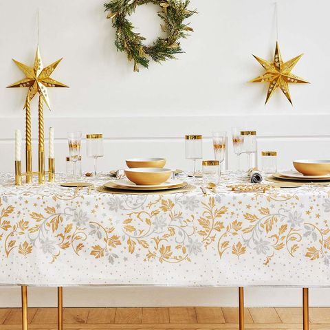 Branch, Yellow, Wall, Gold, Christmas decoration, Room, Table, Leaf, Wallpaper, Twig,